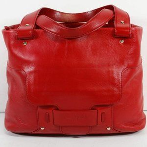 Kate Spade NY Red Leather Shoulder Bag